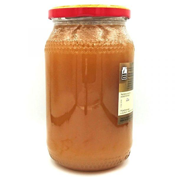 Miód spadziowo-nektarowy 1200g