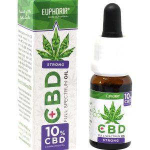 Olej CBD 10% 10ml Euphoria