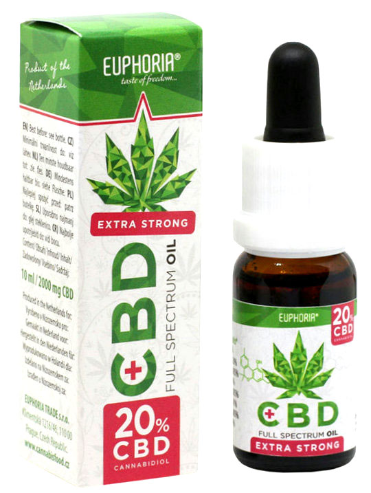 Olej CBD 20% 10ml Euphoria