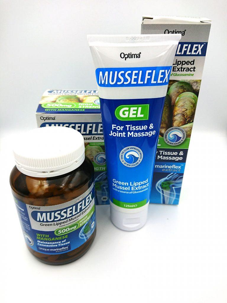 Musselflex tabletki i żel