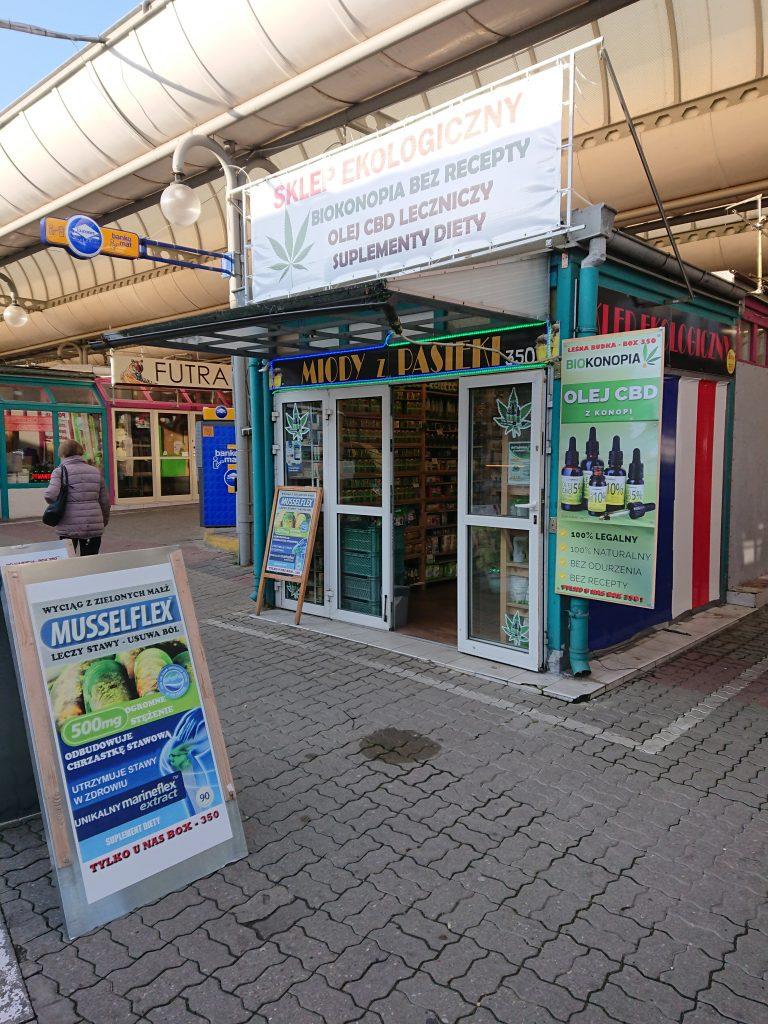 Sklep w Gdyni - Miód, Olejki CBD, Zdrowa Żywność