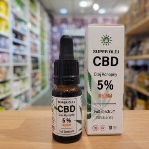 Super Olej CBD 5% Full Spectrum