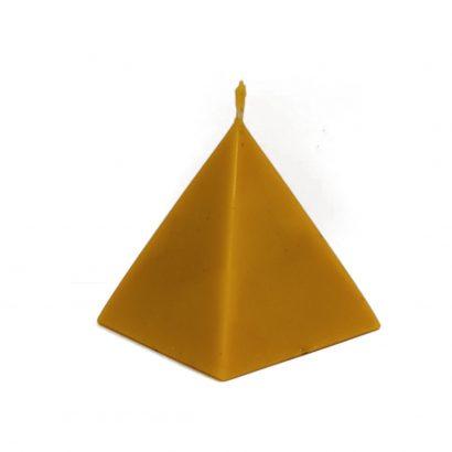 Świeca z Wosku 100% Piramida